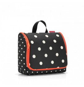 TROUSSE DE TOILETTE REISENTHEL TOILETBAG XL MIXED DOTS
