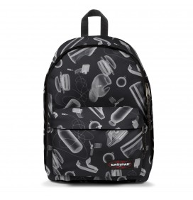 SAC A DOS EASTPAK OUT OF OFFICE XRAY BLACK